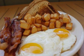 Atlantic Coast Café, Hearty Breakfast Plate